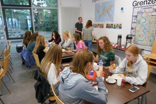 Amerikaaustausch gemeinsames Frühstück_ergebnis